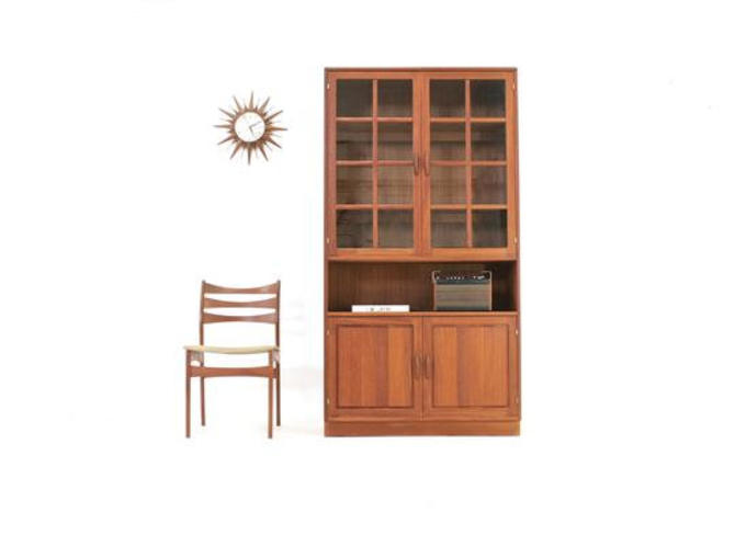 Mid Century Display Cabinet by Dyrlund of Denmark by SputnikFurnitureLLC