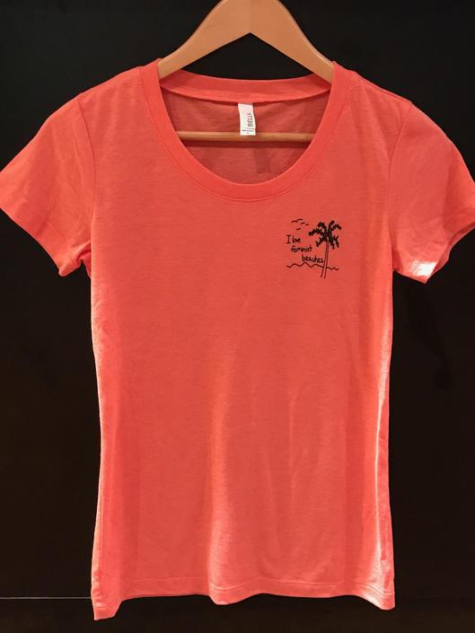 'Feminist Beaches' T-Shirt