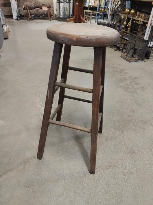 """Wood stool 30"""" tall"""