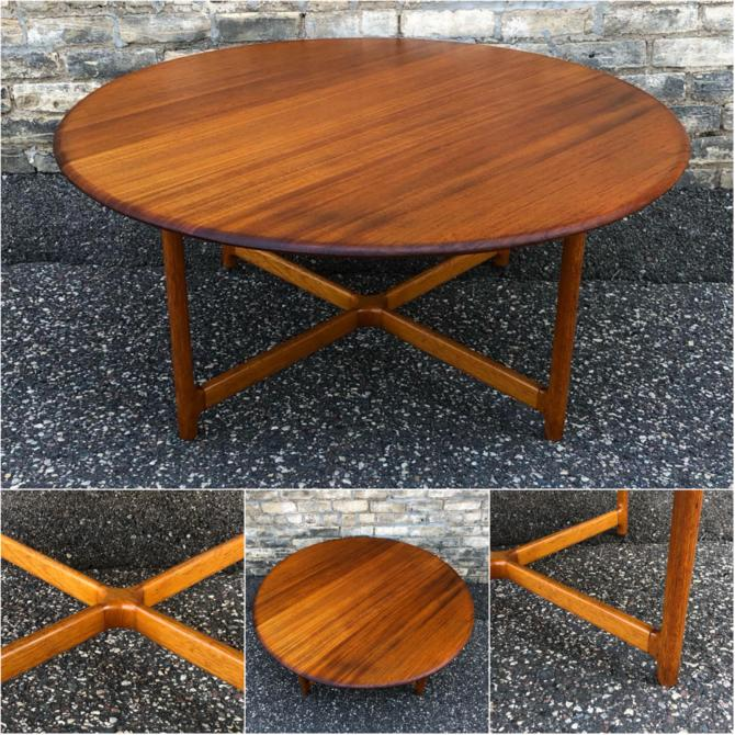 Arne Halvorsen Teak Coffee Table