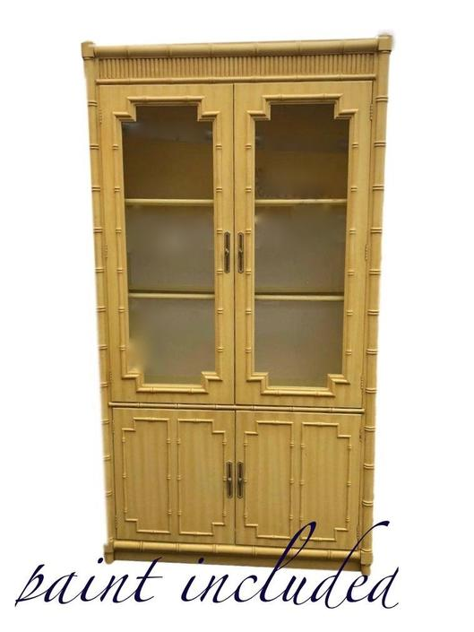 china cabinet/ breakfast cabinet/ Faux bamboo Cabinet /customize by Dianemarieshome