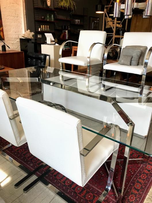 Mies van der Rohe for Knoll Brno Chairs – Set of 4