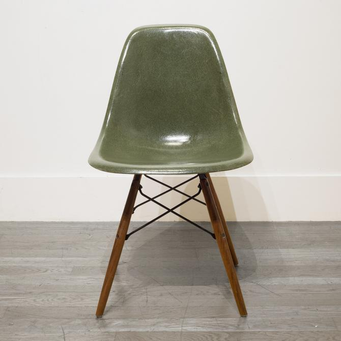 Eames for Herman Miller Fiberglass DSW Shell Chairs c.1958-1965