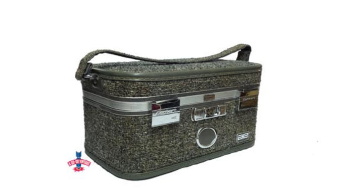 3d2c181d6 Amelia Earhart Train Case, Vintage Tweed Suitcase, Baltimore Luggage Co,  Vintage Overnight Bag