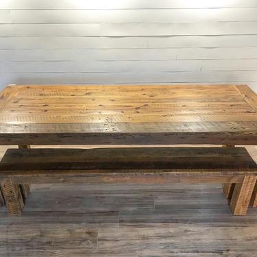 Modern Farmhouse Dining Table by HickoryandHaze