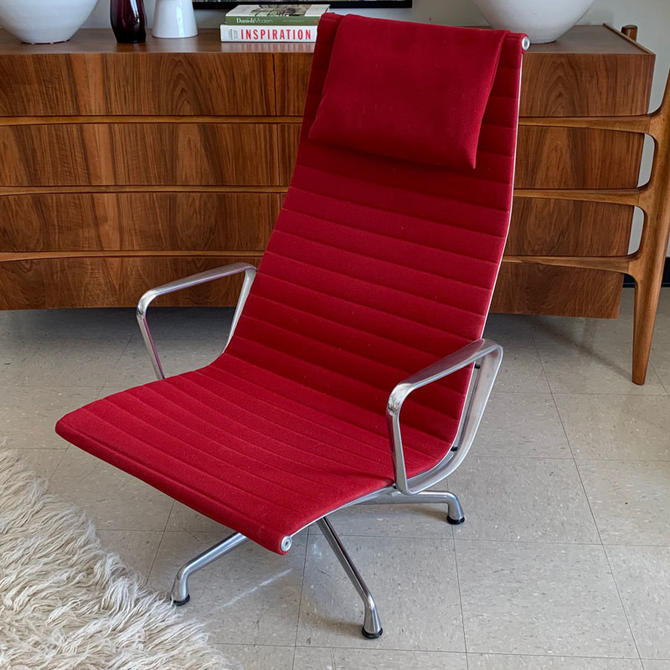 HA-19189 Eames Aluminum Group Lounger