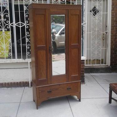 Arts & Crafts Armoire