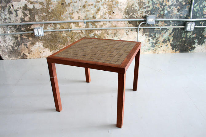 Vintage Martz Tile Table