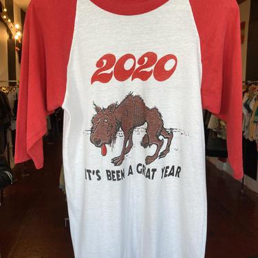 2020 wolf t-shirt XS/S by GimmeDangerLA
