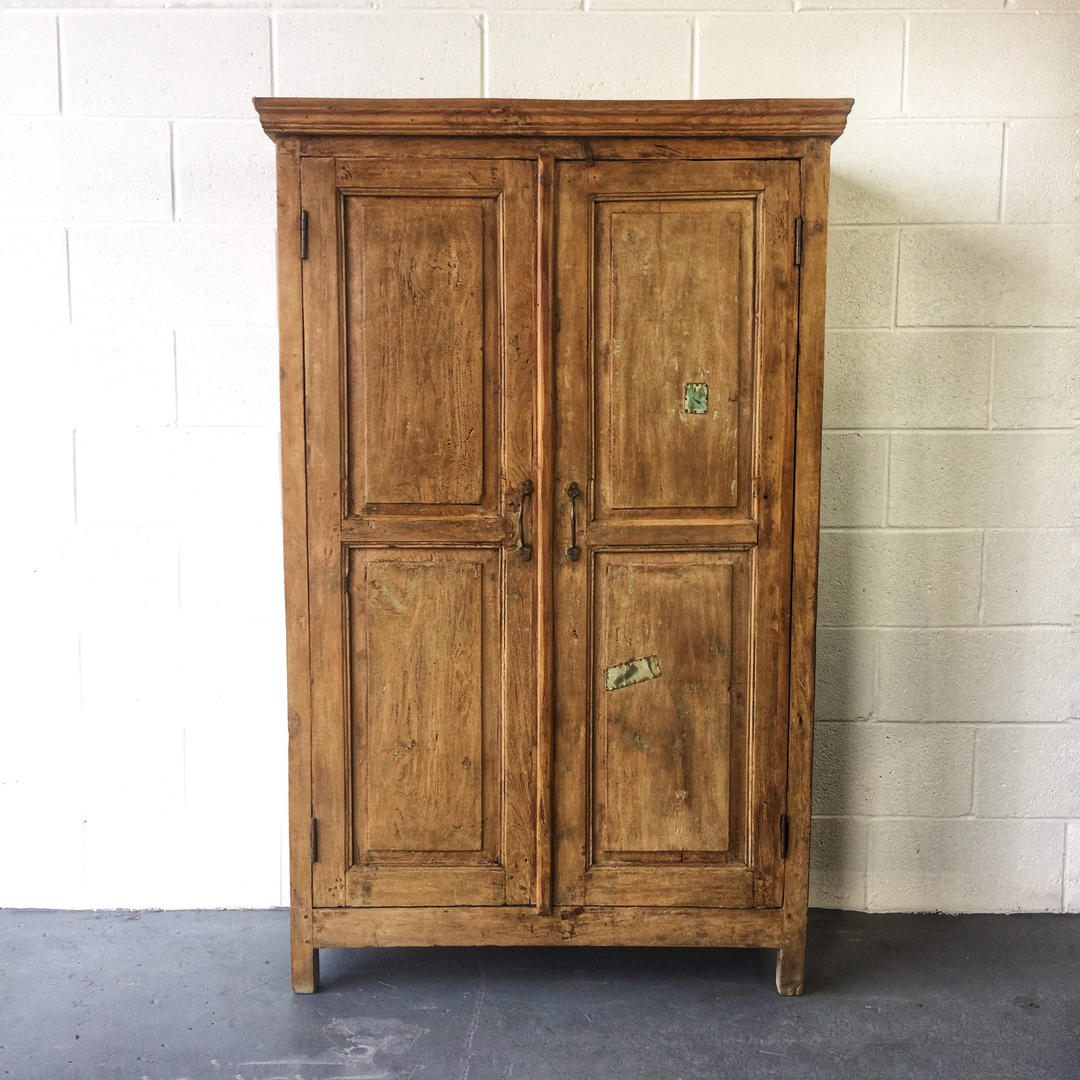 Antique Teak Cabinet, Pantry, Cupboard. Possible ...
