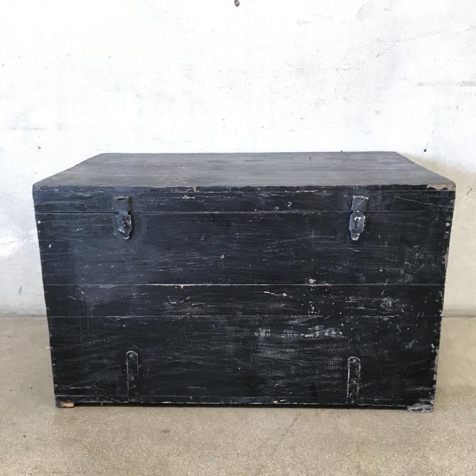 Black Wood Trunk