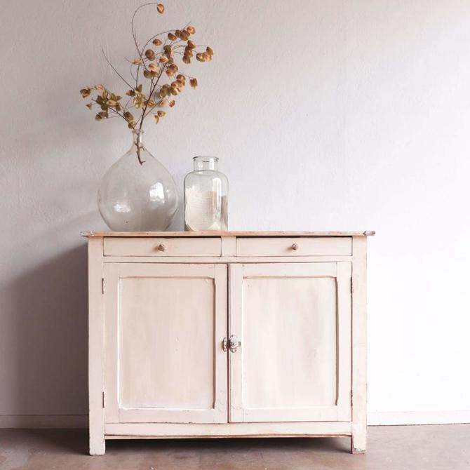 Painted Pantry Cabinet