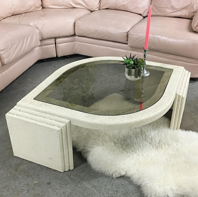 LOCAL PICKUP ONLY ———— Vintage Coffee Table by RetrospectVintage215