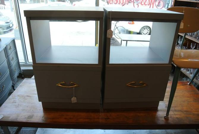 Grey painted nightstands. $90/each