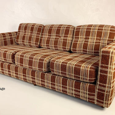 Modern Ultra Lightweight Sofa in Excellent Condition , Circa 1970s - *Please see notes on shipping before you purchase. by CoolCatVintagePA