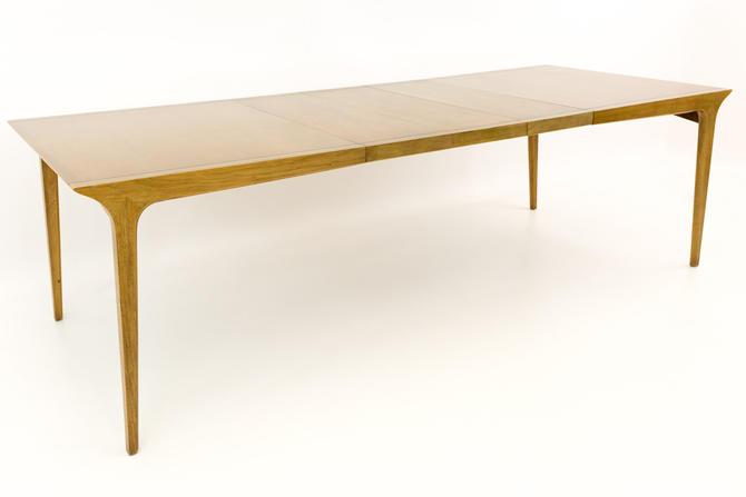 Paul McCobb Style John Van Koert for Drexel Profile 10 person Mid Century Dining Table - mcm by ModernHill