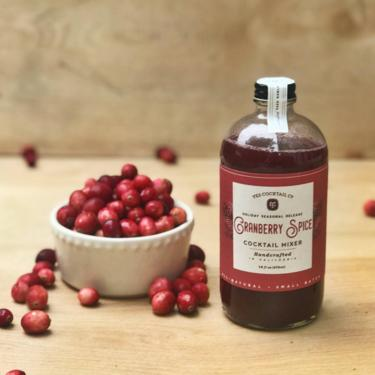 Limited Release Holiday Cranberry Spice Cocktail Mixer