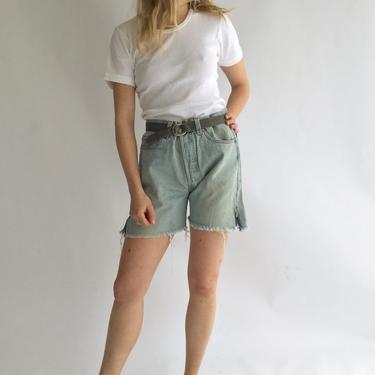 4a68c0d2 Added on November 8, 2018. Vintage 33 Waist Levi 501 | High Waist jean  Shorts ...
