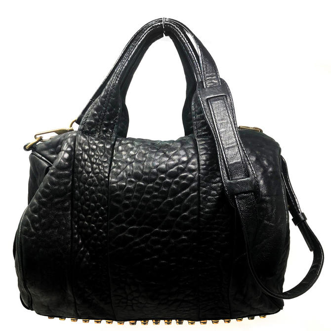 Alexander Wang Black Rocco Bag