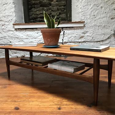 Mid century coffee table danish modern coffee table mid century modern occasional table modern coffee table by VintaDelphia