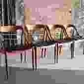 Original Set of 4 Danish Dining Chairs by Johannes Andersen