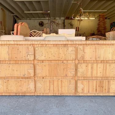 Island Style Triple Bamboo Dresser