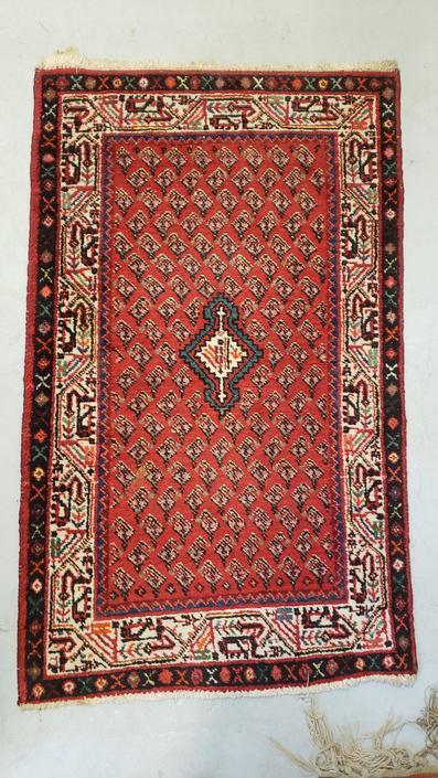 Vintage Woven Wool Blend Rug