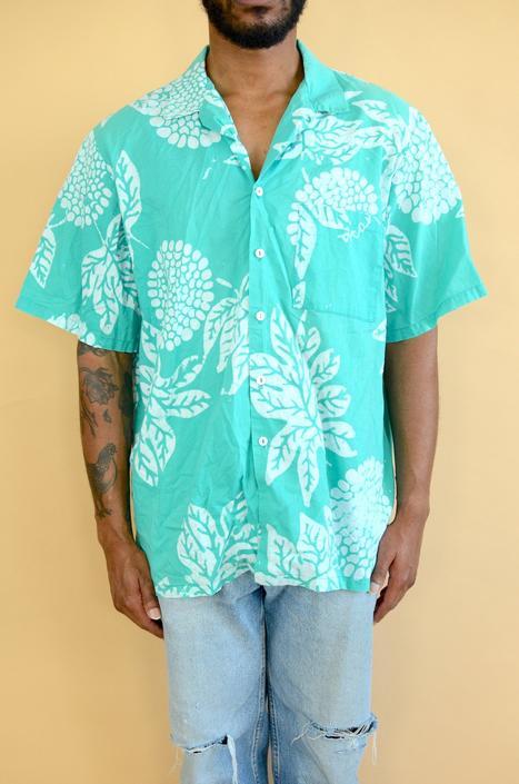 Vintage Flora Hawaii Allover Print Shirt XXL XL Oversize by MAWSUPPLY