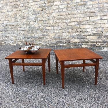 Henredon Heritage Walnut Tables