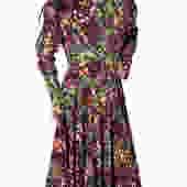 Angela Holmes Full of Flowers Dress