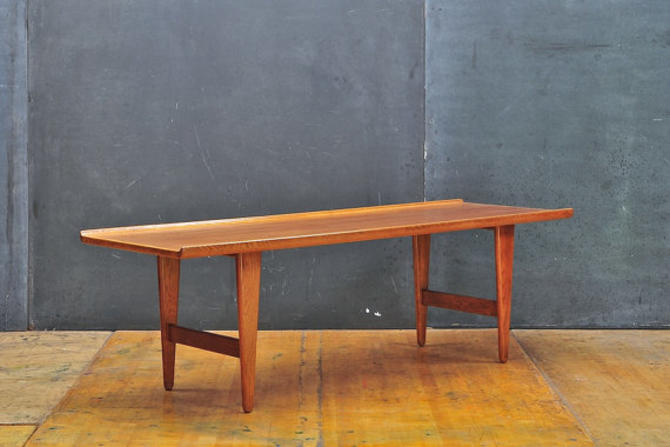 Remarkable Vintage Mid Century Modern Scandinavian High Bulled Edge Low Coffee Table By Cabinmoderndc Gmtry Best Dining Table And Chair Ideas Images Gmtryco