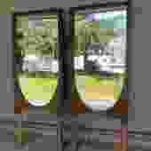 Pair of Midcentury Brasilia Mirrors