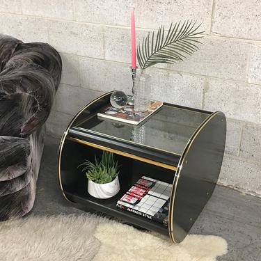 LOCAL PICKUP ONLY ------------ Vintage End Table by RetrospectVintage215
