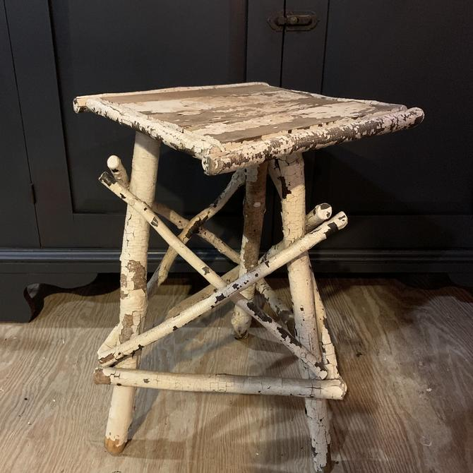 Rustic Vintage Triangle Branch Table