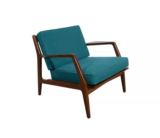 Kofod Larsen Lounge Chair Selig Møbelfabrik Danish Modern by HearthsideHome