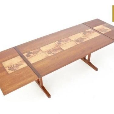 Mid Century Dining Table by Ansager Mobler of Denmark