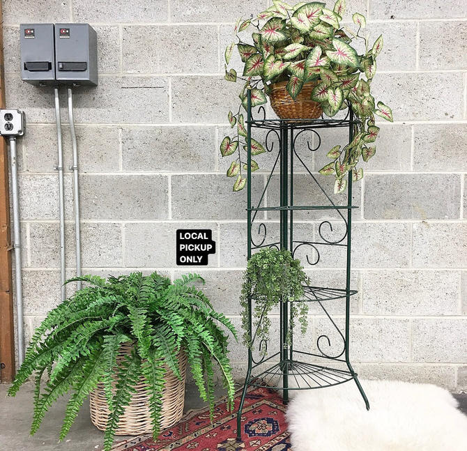 LOCAL PICKUP ONLY ———— Vintage Plant Stand by RetrospectVintage215