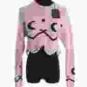 Alanui Cropped Cashmere Sweater