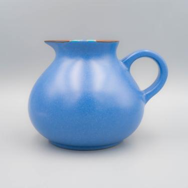 Dansk Mesa Sky Blue Pitcher | Vintage Southwest Inspired Dinnerware Stoneware by MostlyMidCenturySF