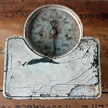 Vintage Detecto Junior bathroom scale - shabby chippy rusty trusty scale by NextStageVintage