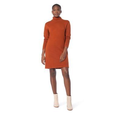 Turtleneck Sweater Dress (multiple colors)