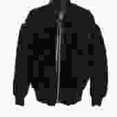 Diesel Shearling Bomber Jacket