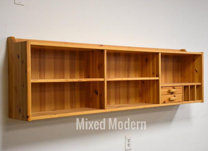 Idé Møbler Solid Pine Hanging Bookshelf Cabinet by mixedmodern1