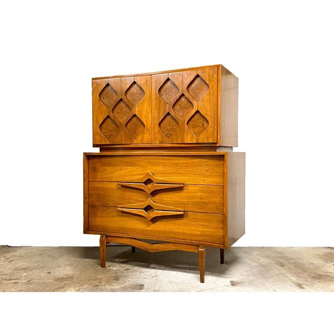 Mid Century Gentleman's Cheat / Tall Dresser
