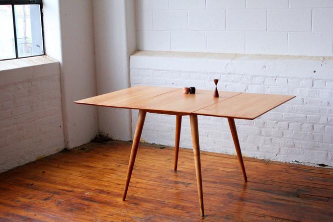 Restored Paul Mccobb Planner Group Drop Leaf Table by NijiFurnishing