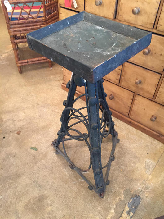 Folk Art Twig Table by coloniaantiques