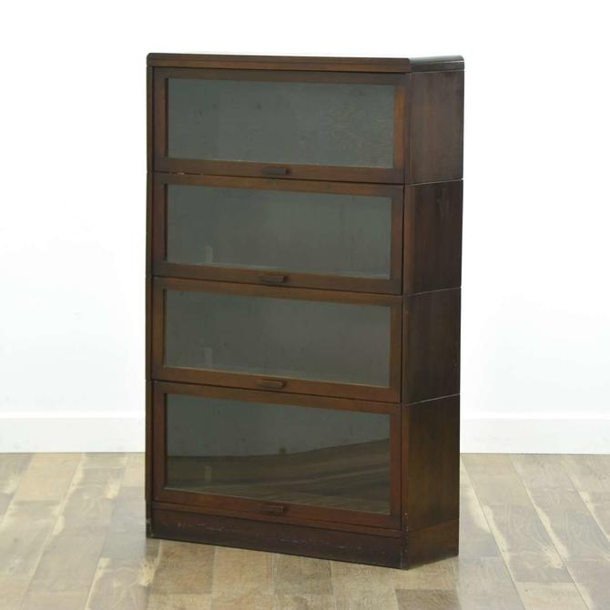 Lundstrom Antique Barrister Bookcase