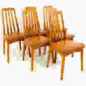 Niels Koefoed Hornslet Teak Dining Chairs