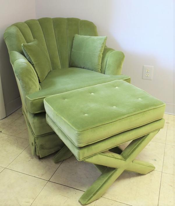 Ethan Allen channel-back chair - perfect condition! - $400