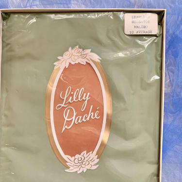 So Sexy Nylon Stockings, Lilly Dache, NOS Original Box, Never Worn, Vintage 60s by GabAboutVintage